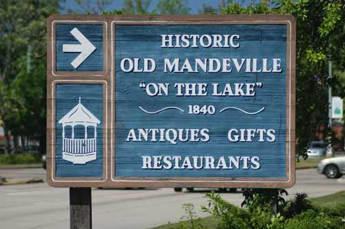 Mandeville Sign